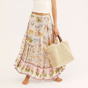NWT Spell Wild Bloom Maxi Skirt